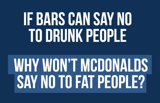 Why Won't McDonald's Say NO