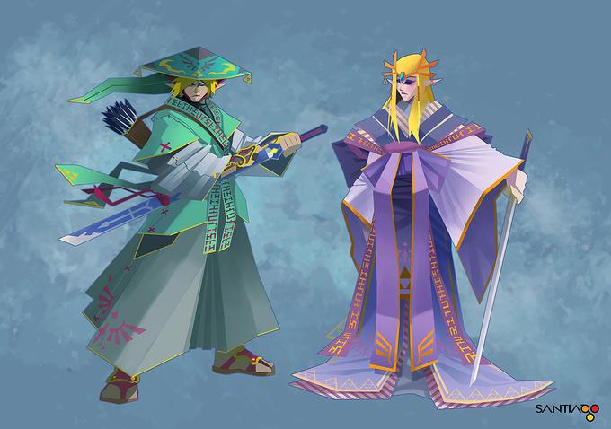 The Myth of Zelda by Pertheseus