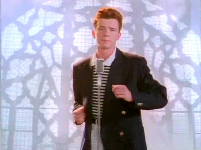 Rick Astley Still Picture