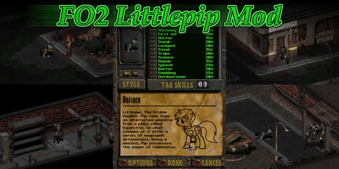 Fallout 2: Littlepip Mod