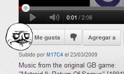 YouTube Me Gusta