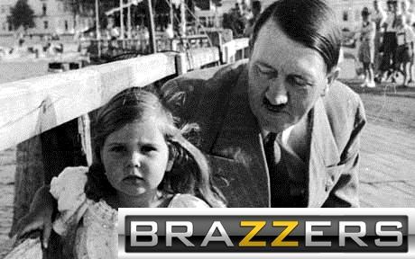 Hitler and Little Girl