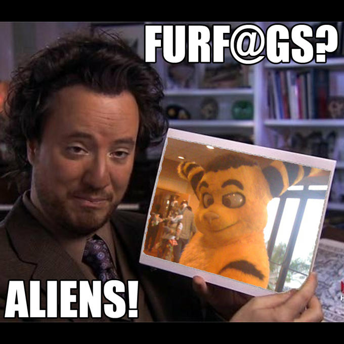 Furfags? Aliens!