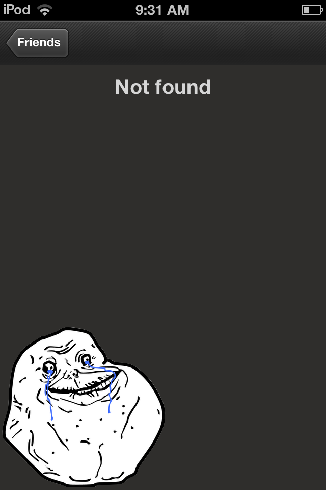 Steam Forever Alone