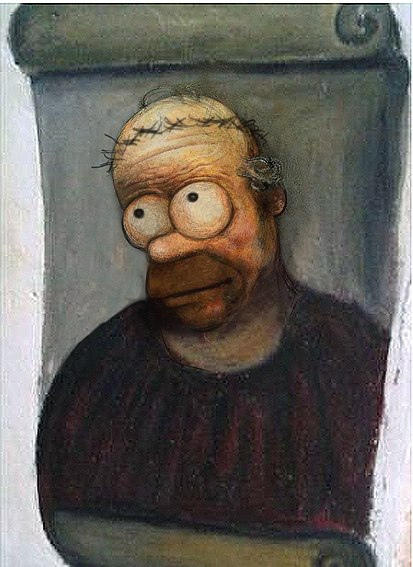Ecce Homer.