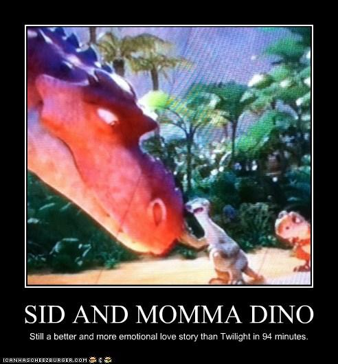 Momma Dino and Sid Poster
