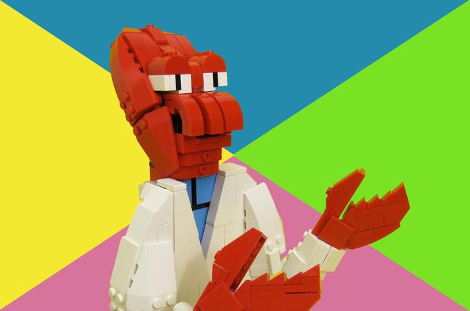 Lego? Why not Zoidberg?