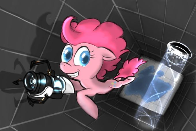 pinking with portals