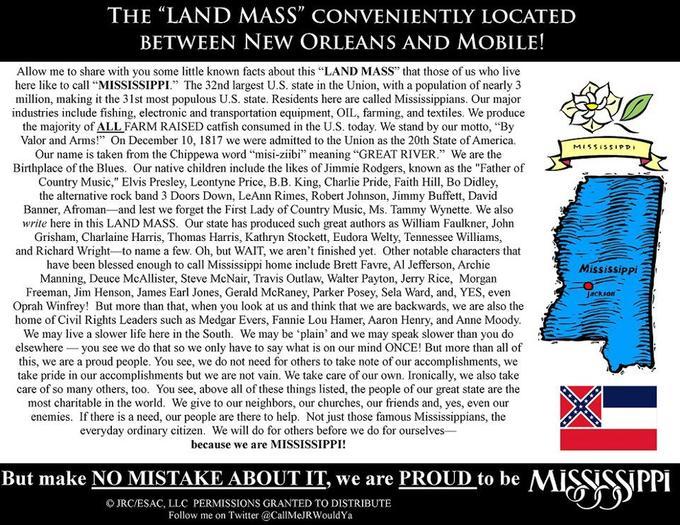 Land Mass Pride!