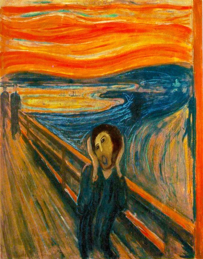 Munch's Screaming Ecce Homo