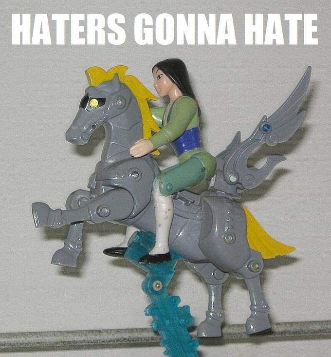 Derpy Custom meets Happy Meal Mulan