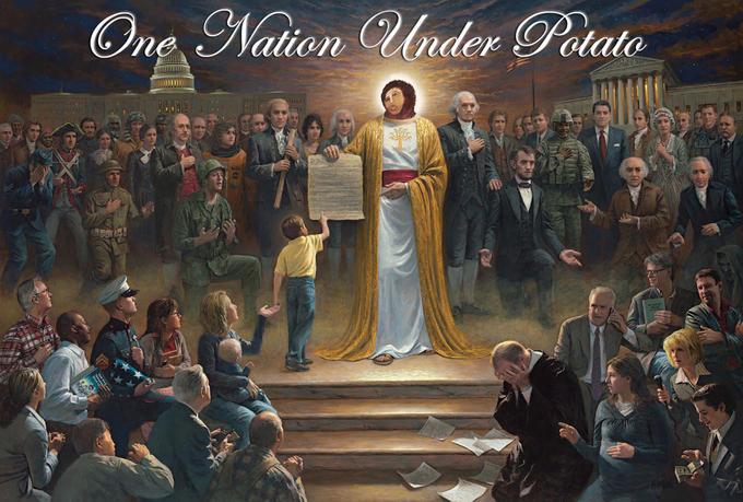 One Nation Under Potato