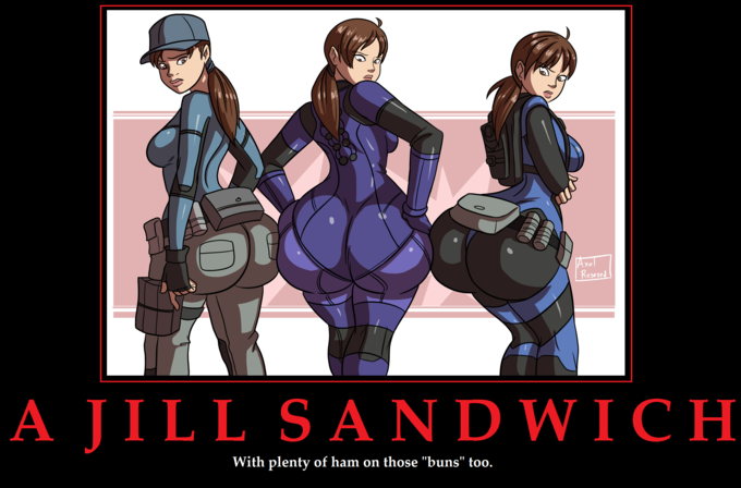 Triple Jill Sandwiches by Axel-Rosered