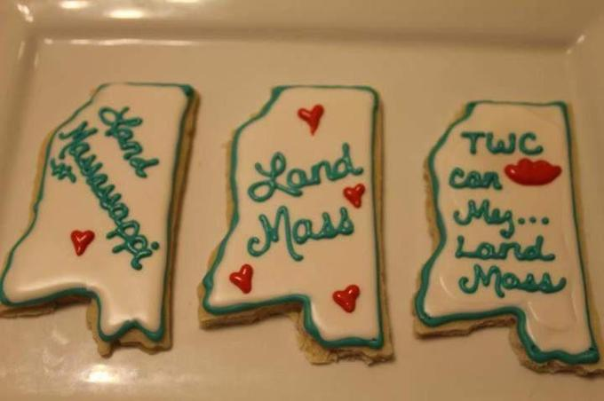 Landmass Cookies