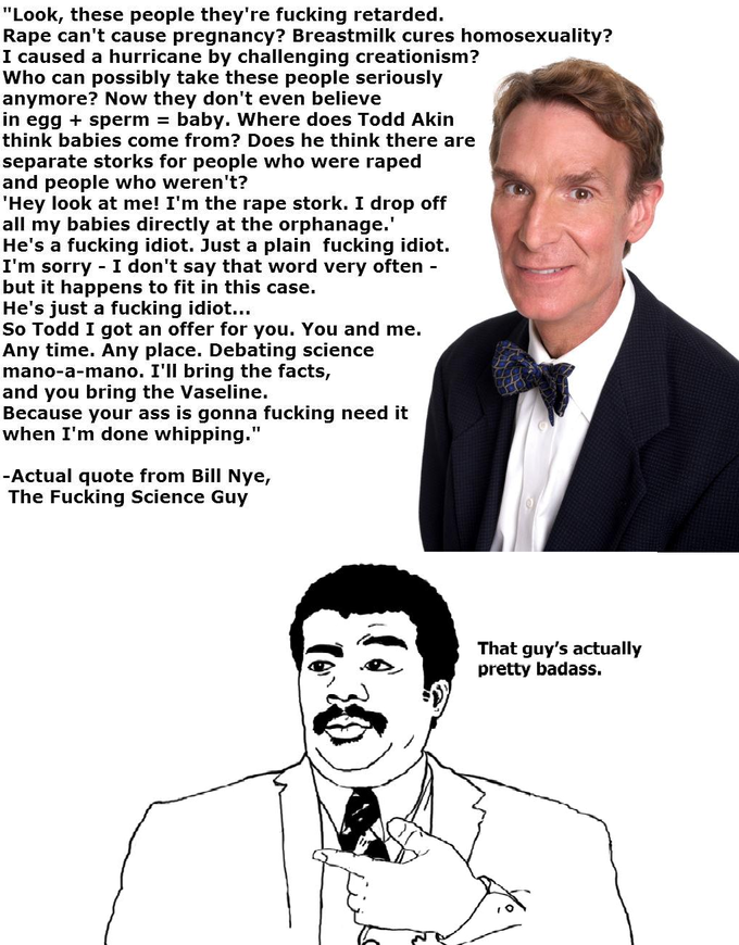 Bill Nye the Fucking Science Guy