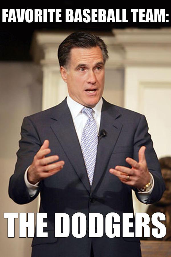 Mitt Romney On Sports