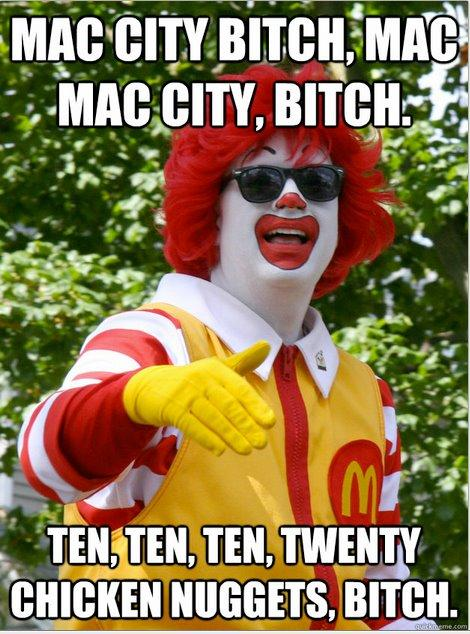 Mac City- Ronald McLethal