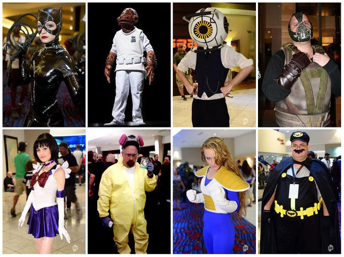 DragonCon 2012 Cosplay Compilation