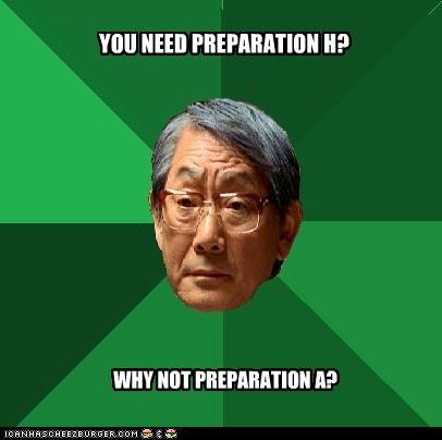 Preparation H???