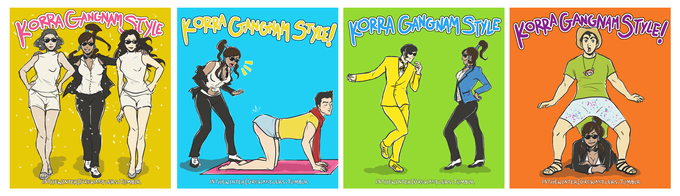Korra Gangnam Style
