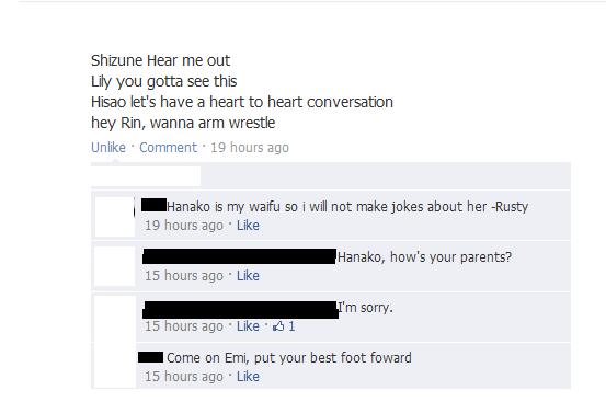 Waifu jokes