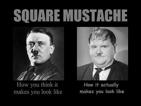 Square Mustache