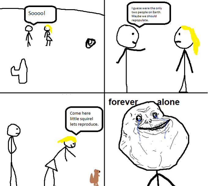 Forever Alone Comic