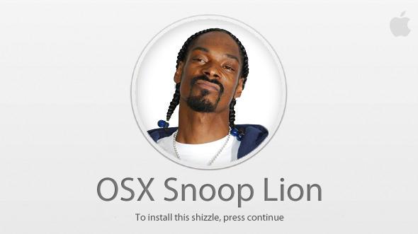 OS X Snoop Lion