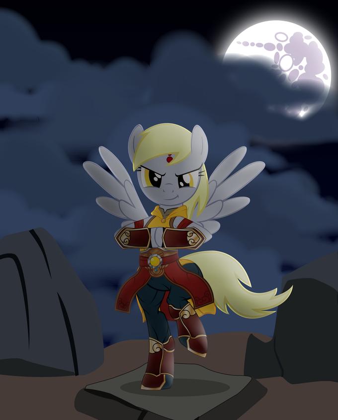 My Little Diablo: Monk