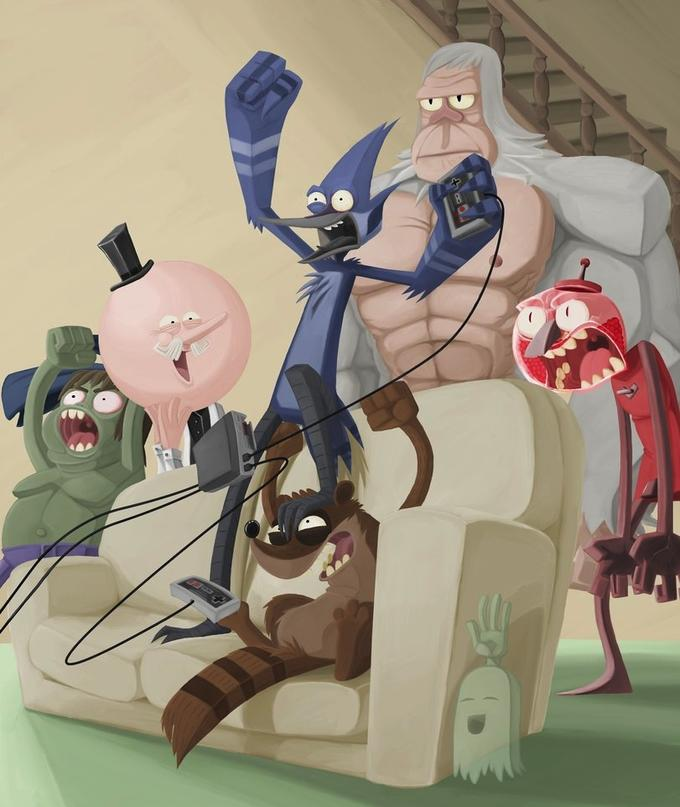 Regular Show: It's Anything But.