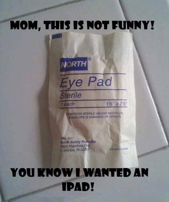 I wanted an iPad, not an Eye Pad