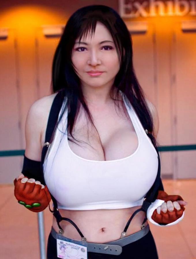 Tifa from Final Fantasy.