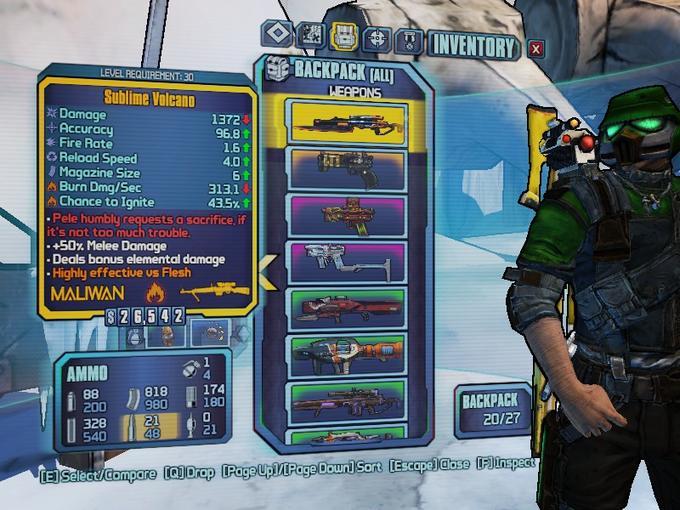 Orange Sniper Rifle