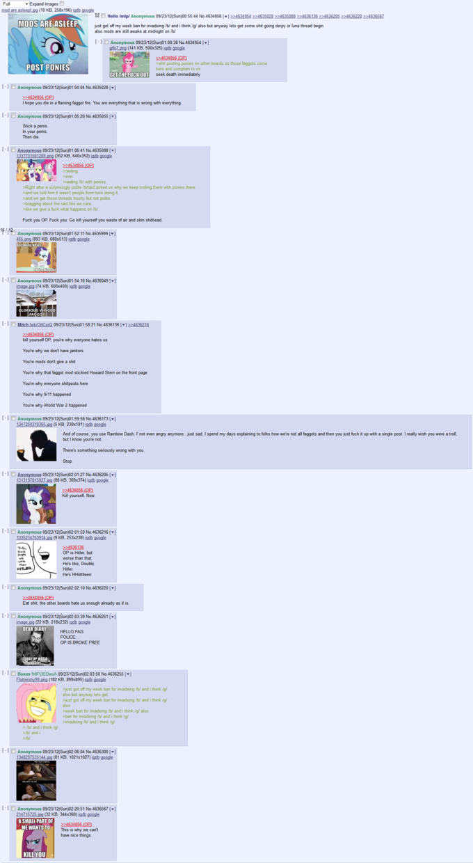 How /mlp/ responds to people being stupid