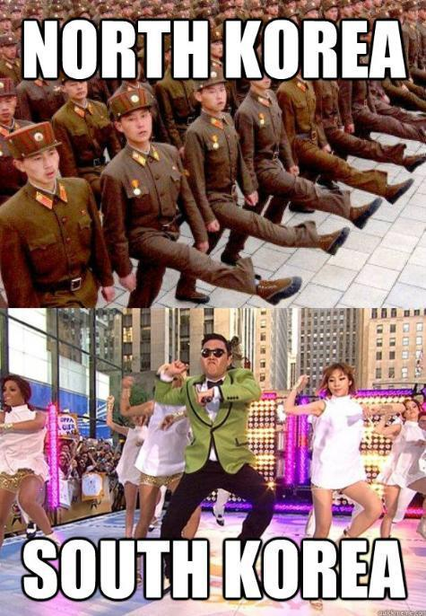 North Korea vs South Korea