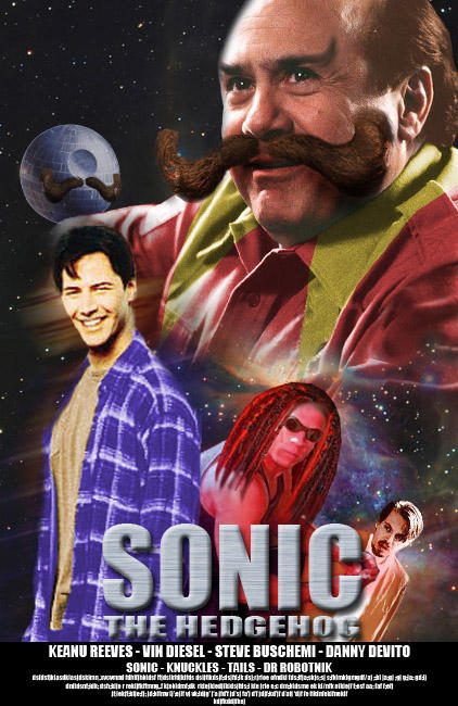 Sonic the Hedgehog - The Movie!!!
