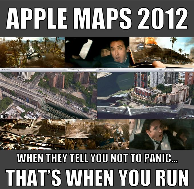 Apple Maps 2012 - What John Cusack has to say about it
