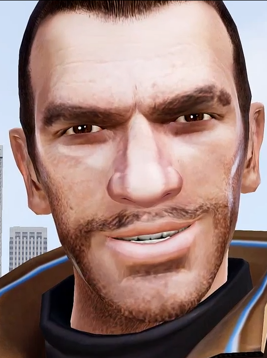 Niko Bellic's Rape Face