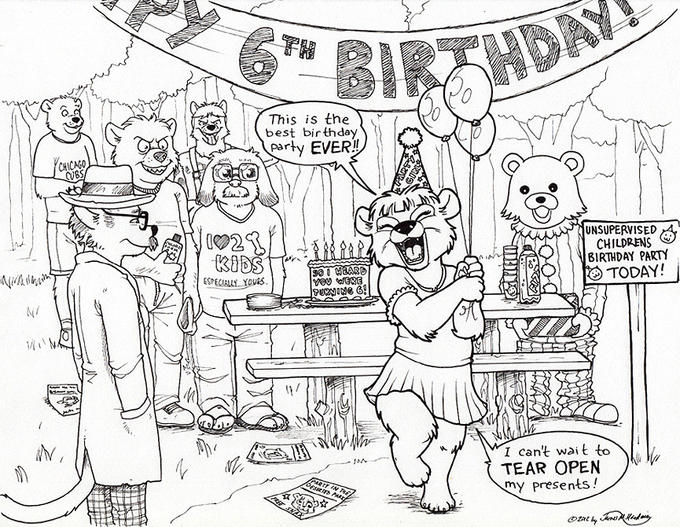 Penance's Birthday Party