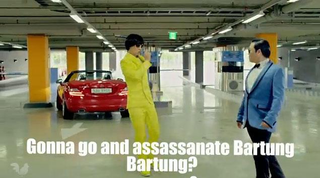Gonna go and assassanate Bartung Bartung?