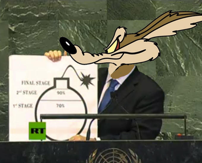 Netanyahu coyote