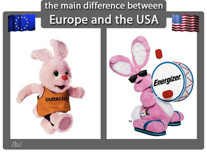 Those pink bunnies