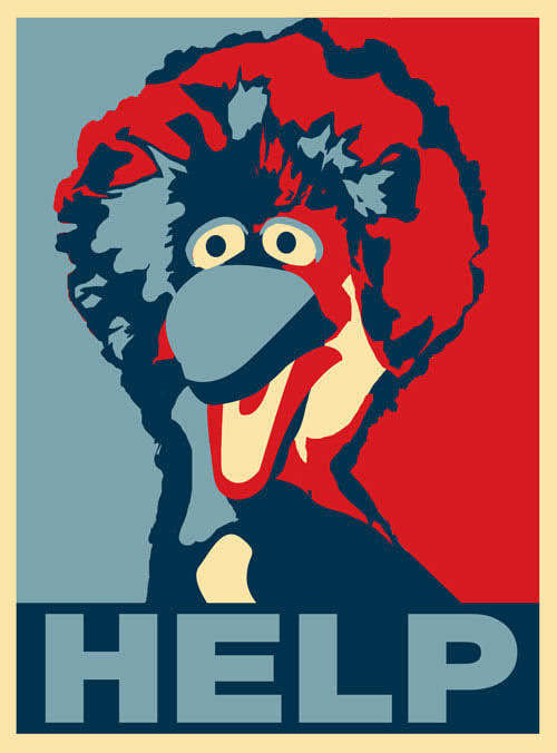 Big Bird Asks for Help