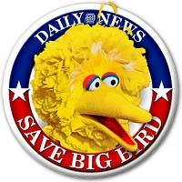Save Big Bird Button