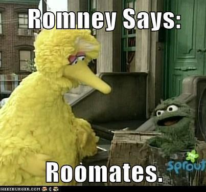 Romney Says: Roomates