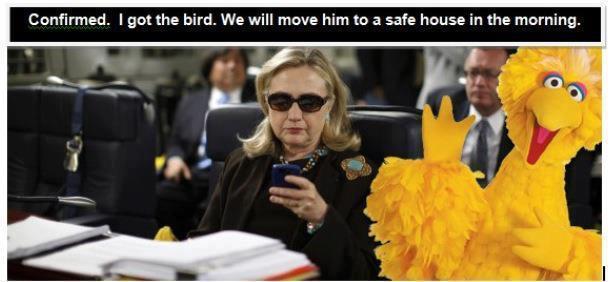 Confirmed, I Got the Bird