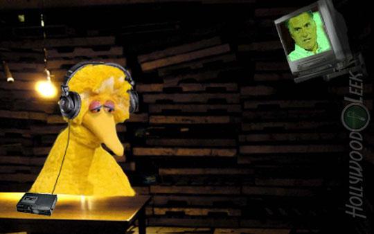 Mitt Kills Big Bird by Making Him Listen to his Convention Speech