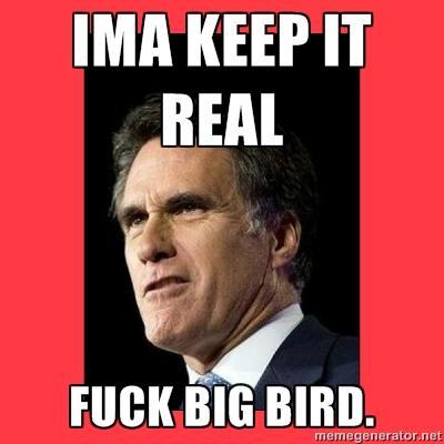 Ima Keep it Real, Fuck Big Bird