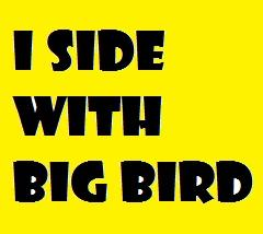 I Side with Big BIrd