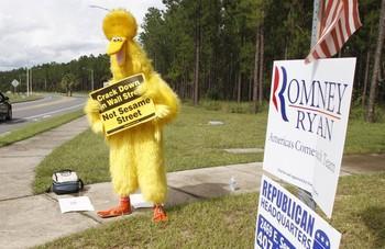 Big Bird - Check Down Wall Street, Not Sesame Street
